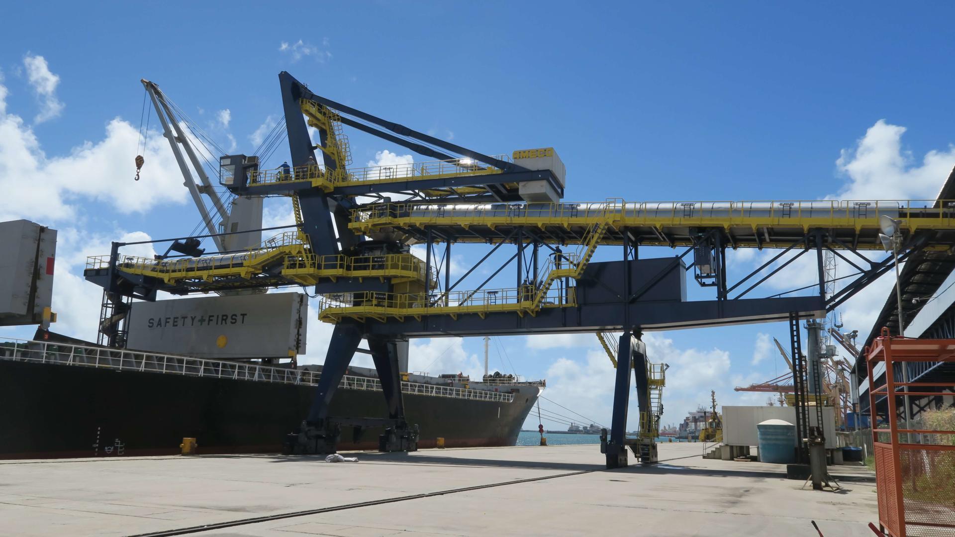 AMECO Shiploader Brazil Day