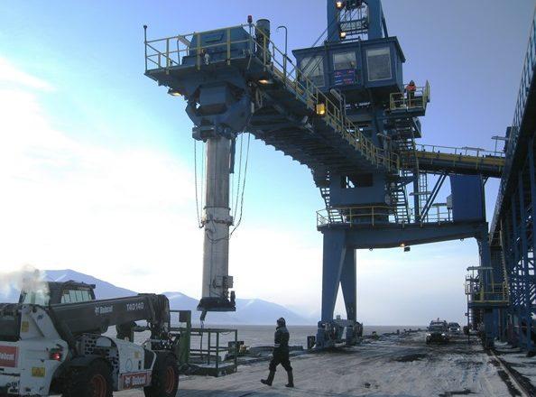 Shiploaders for Bulk Material Handling