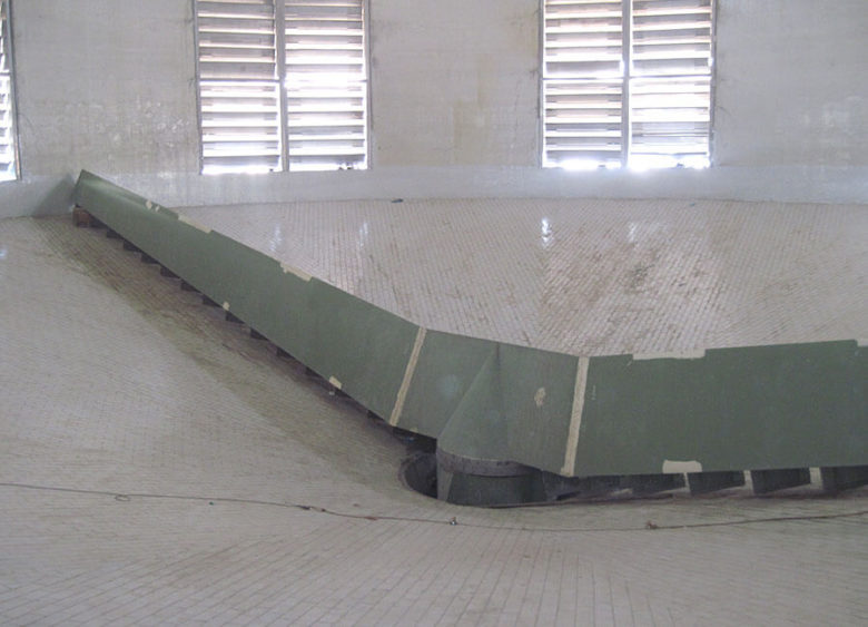 Conical rotary scraper urea Engro Fertilizers Pakistan 1