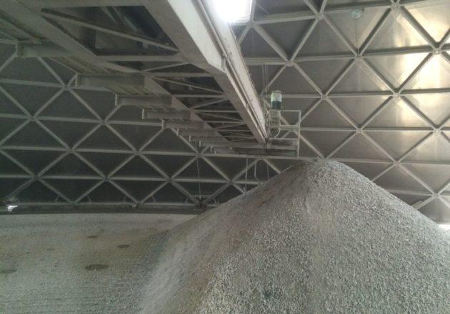 Industria del Cemento, Apilador - Reclamador