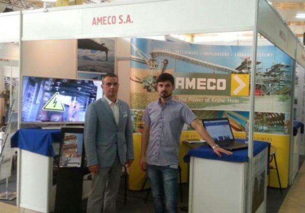 Ameco en la feria Inter-TRANSPORT 2016 fair en Odessa
