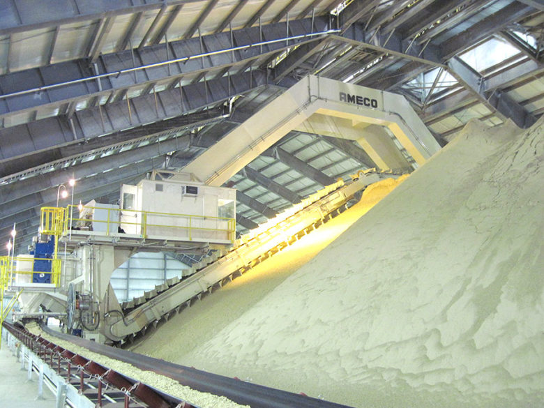 Portal reclaimer gypsum Kentucky Utilities USA