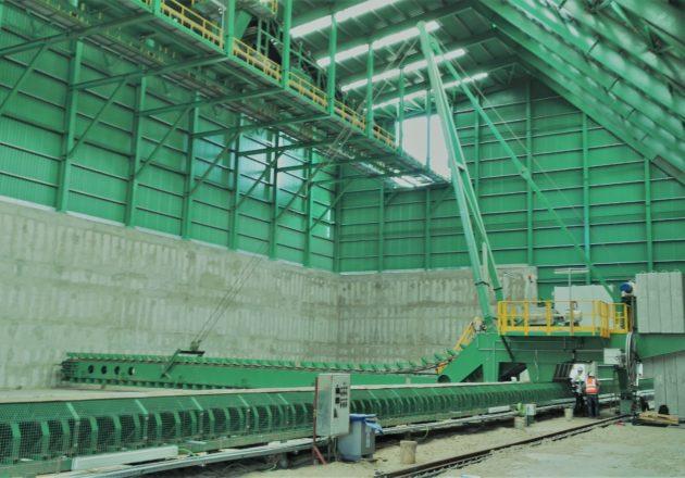 Reclamador Supera el Desafío del Bagazo como Recurso de Energia Renovable