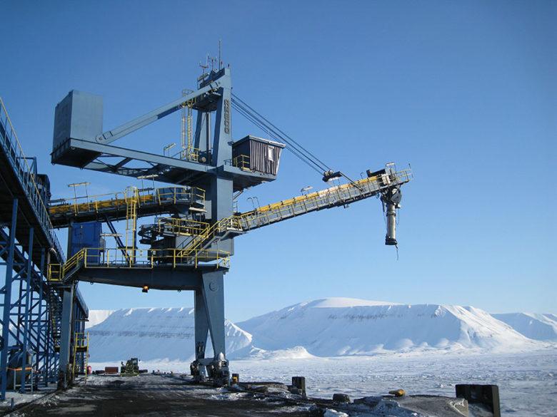 Shiploader coal NSK Norway