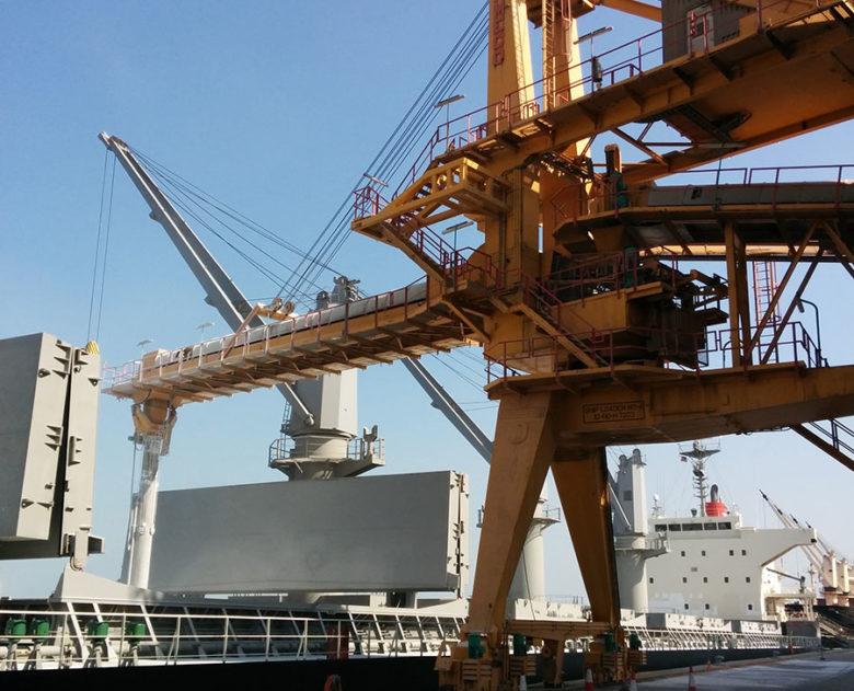 Shiploader urea